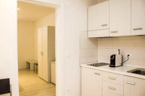 Cuisine ou kitchenette dans l'établissement Hotel Sant'Orsola City House