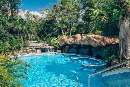 The swimming pool at or near Iberostar Tucan