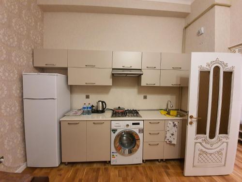 A cozinha ou cozinha compacta de Guest Haus 2