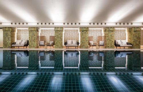 The swimming pool at or near Park Hyatt Hamburg