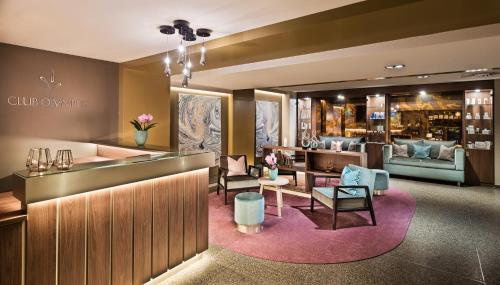 The lobby or reception area at Park Hyatt Hamburg