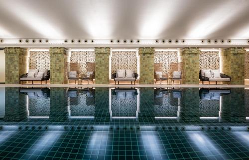 The swimming pool at or near Apartment Residences at Park Hyatt Hamburg