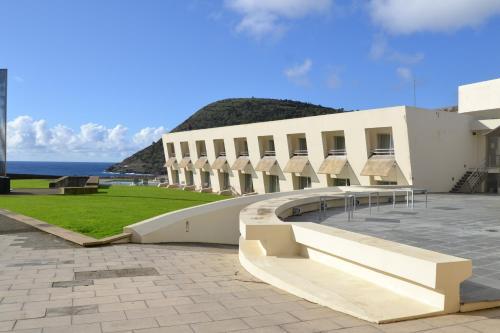 The swimming pool at or close to Pousada de Angra do Heroismo Castelo de S. Sebastiao