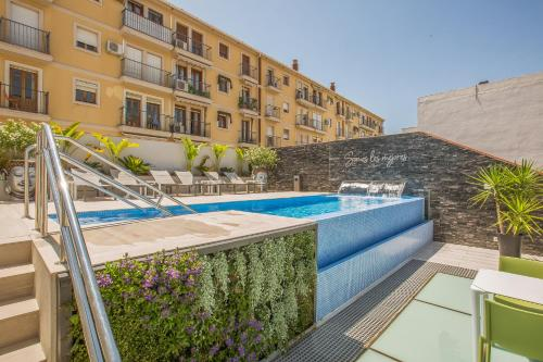 The swimming pool at or near Hotel Brö-Adults Only