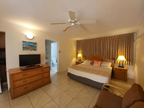 Cama ou camas em um quarto em Sasaki Apartments