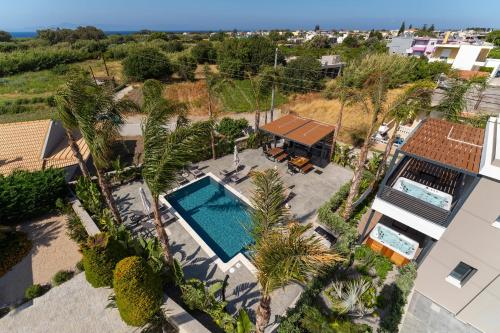 A bird's-eye view of Palmeral Luxury Suites