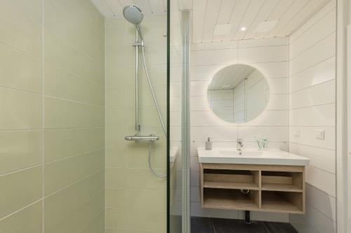 Ein Badezimmer in der Unterkunft Center Parcs Bispinger Lüneburger Heide