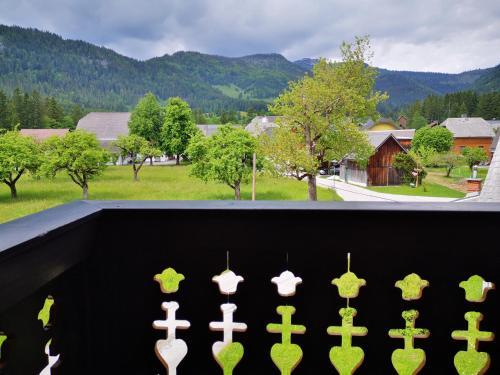 Ferienwohnung Bergfeelingにあるバルコニーまたはテラス