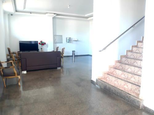 A cozinha ou cozinha compacta de Carvalho's Hotel