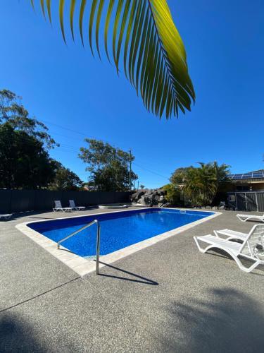 The swimming pool at or near Big4 Hervey Bay Holiday Park