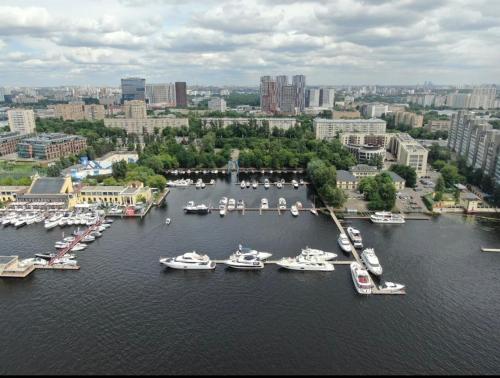 DoubleTree by Hilton Moscow – Marina с высоты птичьего полета