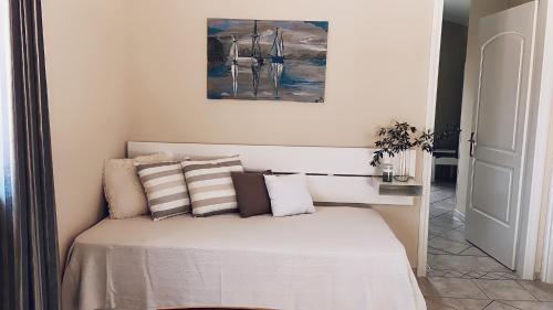 Letto o letti in una camera di Residence Poseidon
