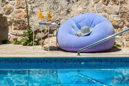 The swimming pool at or close to Villa Stone-Exceptional private Estate
