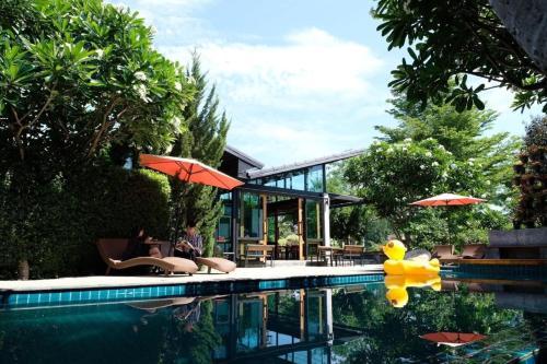 Het zwembad bij of vlak bij Family House Zen Boutique Resort