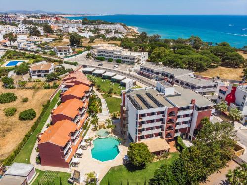 Topazio Mar Beach Hotel & Apartments a vista de pájaro