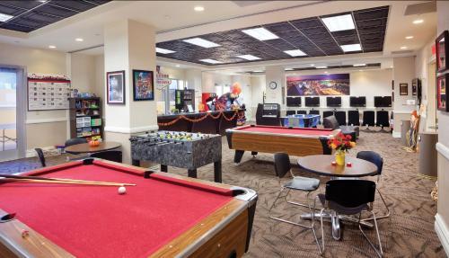 Mesa de billar en Club Wyndham Grand Desert