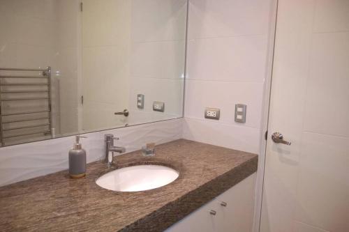 A bathroom at Barranc Group Penthouse