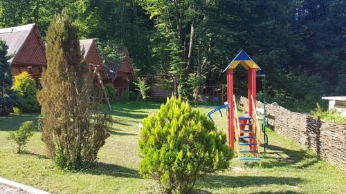 Children's play area at Oasis Karpat