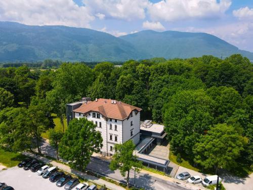 A bird's-eye view of Heritage Hotel Krone