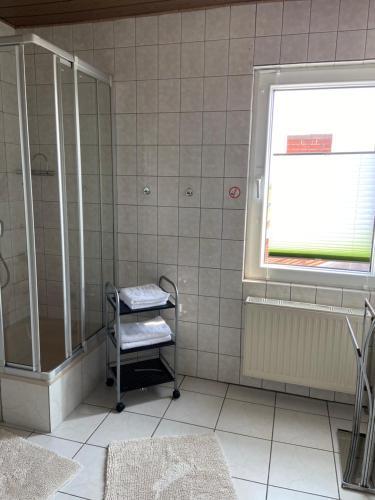 Ein Badezimmer in der Unterkunft Apartments & Ferienhaus Senftner