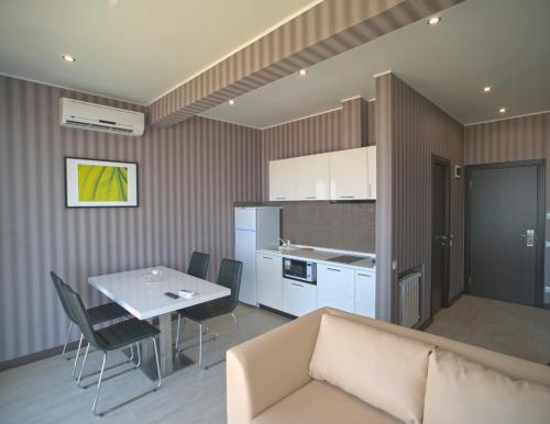 Гостиная зона в Апарт-Отель «Бристоль»