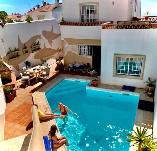 A view of the pool at Seaside Apartment with Pool or nearby