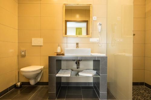 A bathroom at Hotel Viola