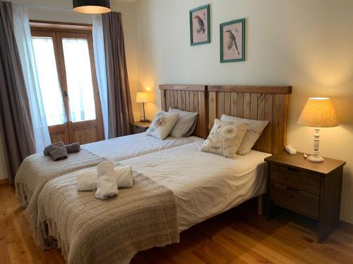 Cama o camas de una habitación en Espot Deluxe 2
