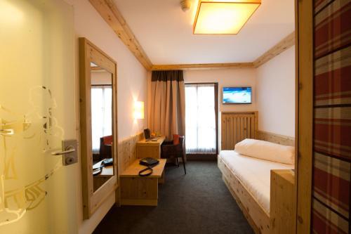 Zona de estar de Hotel Bierwirt