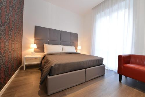 Letto o letti in una camera di Maison Flaminio