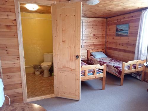 A bathroom at Гостевой дом Тимур