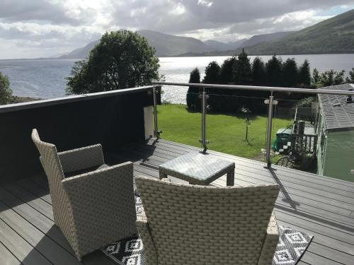 A balcony or terrace at Campfield House
