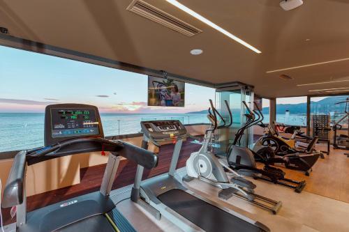 Het fitnesscentrum en/of fitnessfaciliteiten van Palmera Beach Hotel & Spa