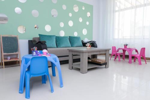 O zonă de relaxare la Sim House
