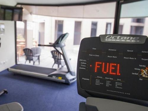 The fitness center and/or fitness facilities at The Dingley Hotel