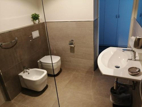 A bathroom at Hotel Lily