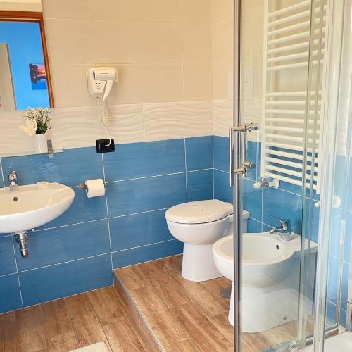 A bathroom at Stella in Centro