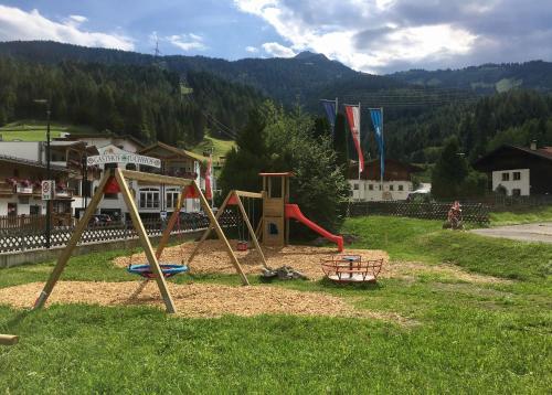 Children's play area at Hotel Bergland