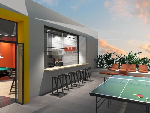 Ping-pong facilities at Eden Roc Resort - All Inclusive or nearby