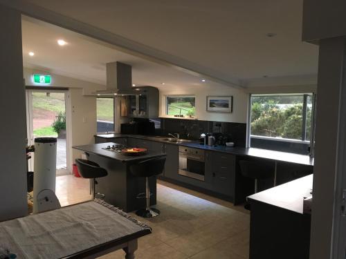 A kitchen or kitchenette at Blue House Denmark