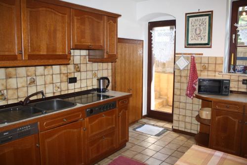 Küche/Küchenzeile in der Unterkunft Ferienhaus Schilling