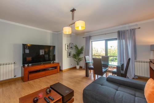 A seating area at Villaggio Manique Appartment