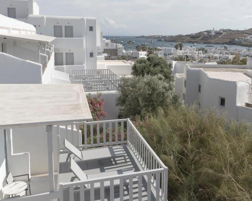 Balcon ou terrasse dans l'établissement Mykonos Essence Hotel
