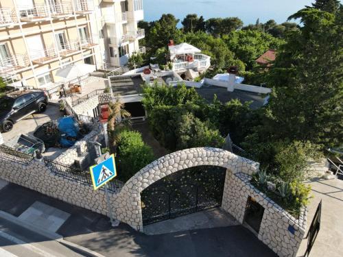 Pohľad z vtáčej perspektívy na ubytovanie La Villa - the beach house