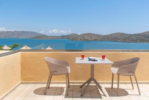 A balcony or terrace at Elounda Heights (Adults Only)