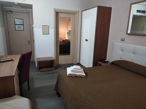 Letto o letti in una camera di Hotel Antica Tabaccaia Resort