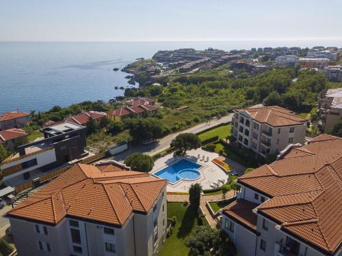 Een luchtfoto van View Apartments