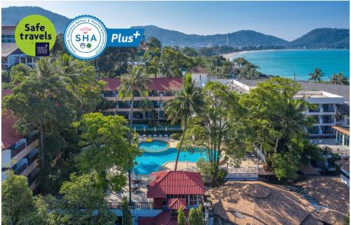 A view of the pool at Patong Lodge Hotel - SHA Plus or nearby