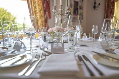 A restaurant or other place to eat at The Manners Arms