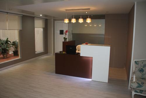 The lobby or reception area at Verona